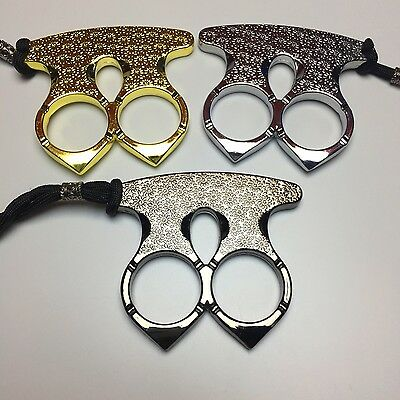 Double Finger Buckle Broken Window Device Defence Weapon Wolf Escape Articles V