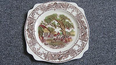 Vintage Clarice Cliff Rural Scenes Plate