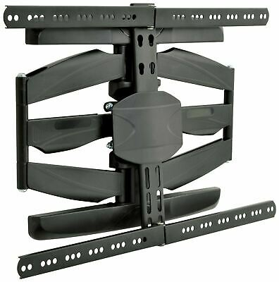 "TV LCD LED Monitor CCTV Wall Mount bracket Double Arm Full Motion 32"" - 65"" 45kg"