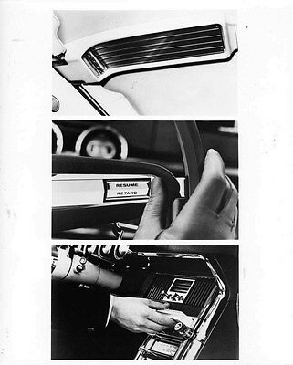1966 Ford Thunderbird Interior Instruments ORIGINAL Factory Photo oub6881