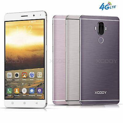 "32GB 6.0"" HD 4G 13MP Dual SIM Android UNLOCKED Fingerprint cell phone Smartphone"