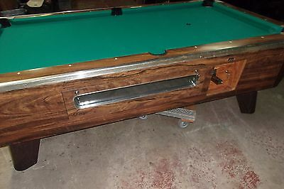 Valley 7 ft. coin op pool table  #PT183