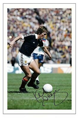 Kenny Dalglish Scotland Autograph Signed Photo Print Soccer