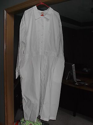Womens  White Nurse Dress Size 32 Great For Halloween Costume New