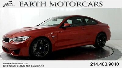 2015 BMW M4 Base Coupe 2-Door 2015 BMW M4, CARFAX CERTIFIED, 1 OWNER, NAV, CARBON FIBER, SERVICED, 6 SPEED!