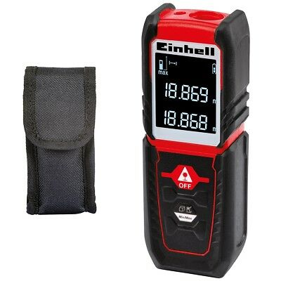Einhell Laser Distance Measurer Minimum/Maximum Pocket Size TC-LD 25 Red 2270075