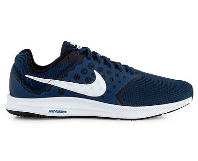 Nike Men's Downshifter 7 Shoe - Midnight Navy/White