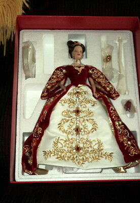2000 Barbie Faberge Imperial Splendor Porcelain Doll Nrfb!