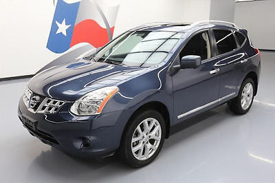 2013 Nissan Rogue  2013 NISSAN ROGUE SL LEATHER SUNROOF NAV 360-CAM 16K MI #027365 Texas Direct