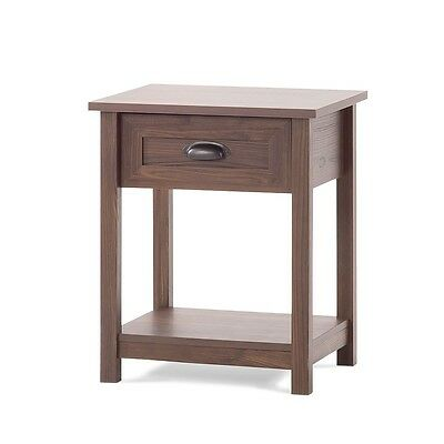 Child Craft Abbott Ready-to-Assemble Night Stand - Rich Walnut