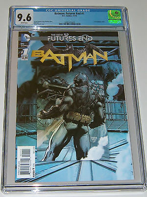 Batman #1 Cgc 9.6 Nm+ 3-D Cover Dc Vs Superman Jla Comic Book