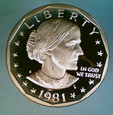 1981-S Proof Type 2 Susan B. Anthony Dollar (005)