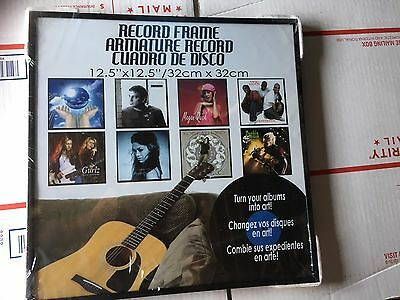 1 Record Album Frame Glass LP Frame Top Quality RARE Find Brand New