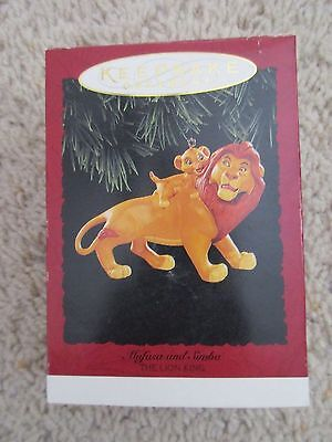 Hallmark 1994 Ornament - Disney's The Lion King - Mufas and Simba