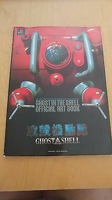 GHOST IN THE SHELL official art book  Japanese and English PlayStation