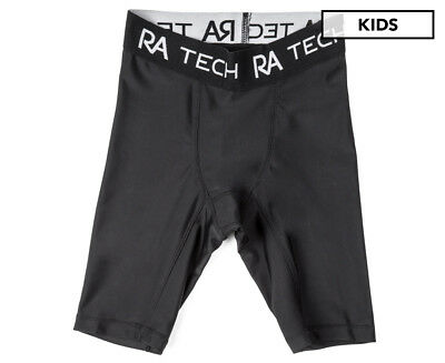 Russell Athletic Boys' Compression Short - Black