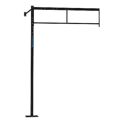 2x Estacion Plataforma Ampliacion Pared Halterofilia Pull up Squat 270x170x168cm
