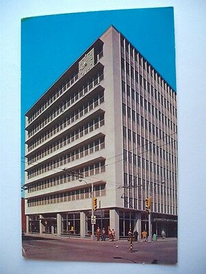 St. Lawrence Seaway Authority Of Canada Building Cornwall Ontario Postcard