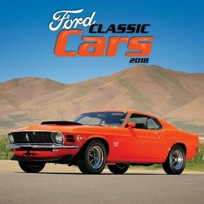 2018 Classic Cars Wall Calendar,  Classic Car by Avalanche Publishing
