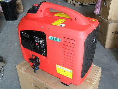 Silent Petrol Generator 2.2 Kw Electric / Remote Start Reduced Last Few Dont Mis