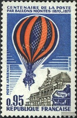 France 1736 (complete issue) unmounted mint / never hinged 1971 Airmail