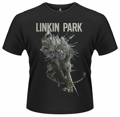 Linkin Park T Shirt Bow Official Mens Black Tee Hunting Party Rock Merch Hybrid