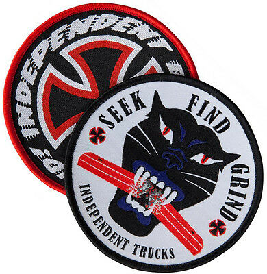 INDEPENDENT TRUCKS -  Sew on Skateboard Patch Set - Assorted Logos