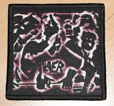 "SLAYER ""UNDISPUTED ATTITUDE"" silk screen PATCH"