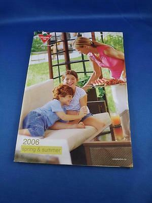 Canadian Tire Catalog 2006 Spring & Summer Bbq Patio Furniture Golf Camping