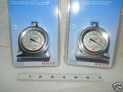 hanging thermometer -20° to 80° F freezer - fridge 2 ea Cooper 25HP food service