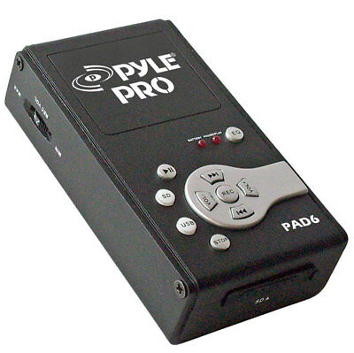 Pyle PAD6 USB Audio Interface & Analog Sound Recording Recorder SD Portable