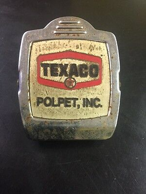 Vintage Texaco Gas And Oil Magnetic Clip Great Advertising