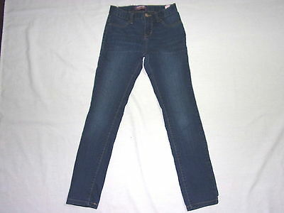 Size 8 Regular - Girl - Blue Denim Jegging Jeans By Old Navy - Adjustable Waist