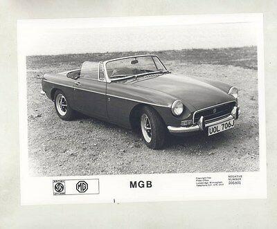 1971 MG MGB ORIGINAL Factory Photograph wy4164