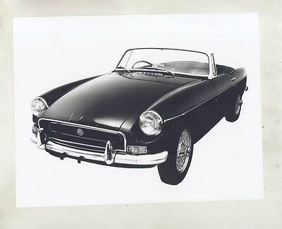 1971 MG MGB ORIGINAL Factory Photograph wy4168