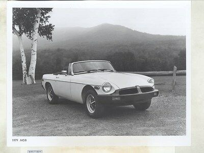 1979 MG MGB ORIGINAL Factory Photograph wy4175