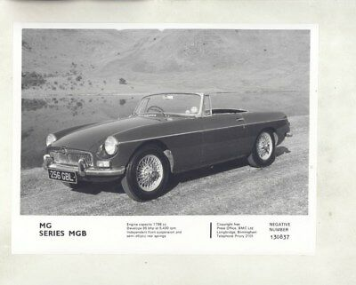1965 ? MG MGB ORIGINAL Factory Photograph wy4187