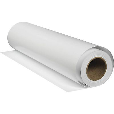 """36"""" 10m Roll Waterproof Backlight Film Solvent Printing Advertising 100 Micron"""