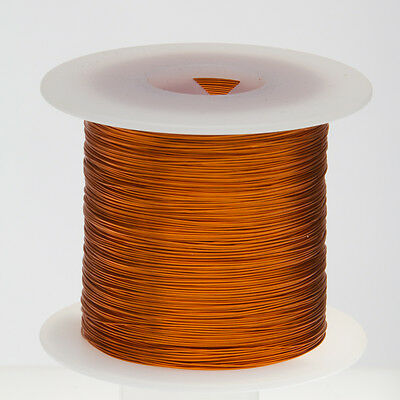 """18 AWG Gauge Enameled Copper Magnet Wire 2.5 lbs 497' Length 0.0428"""" 200C Nat"""