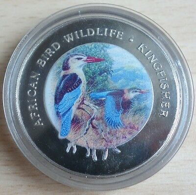 Equatorial Guinea 1000 Francos 1994 Wildlife Kingfisher