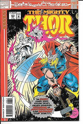 Blood and Thunder Complete Storyline 1-13 Thor Silver Surfer Warlock Thanos