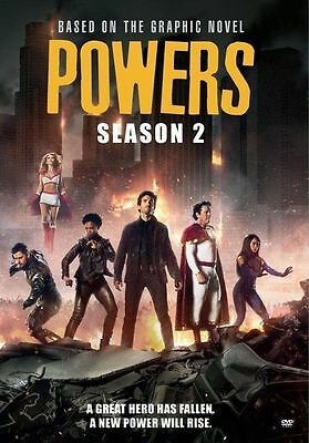 Powers: COMPLETE Season 2 USED VERY GOOD DVD TWO DISC IN TWO CASES