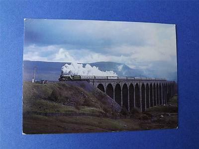 Postcard Flying Scotsman Train Keighley And Worth Valley Railway 1978