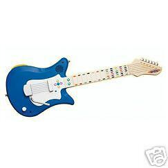 New Fisher Price I Can Play Guitar Blue