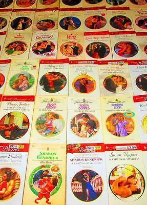 HARLEQUIN PRESENTS Red Banner & Vintage ROMANCE Book Lot of 39 -SOFTCOVERS