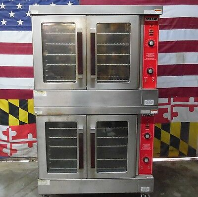 Vulcan Gas Double Deck Full Size Convection Ovens VC4GD-10