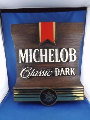 Michelob Classic Dark Bar Man Cave Sign Beer Advertise Anheuser Busch Logo