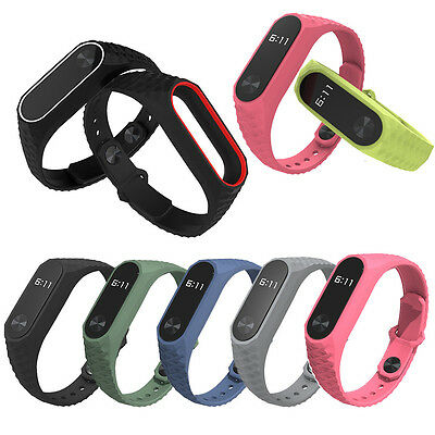 20x150mm Durable Replacement TPU Anti-off Wristband For Xiaomi Mi Band 2