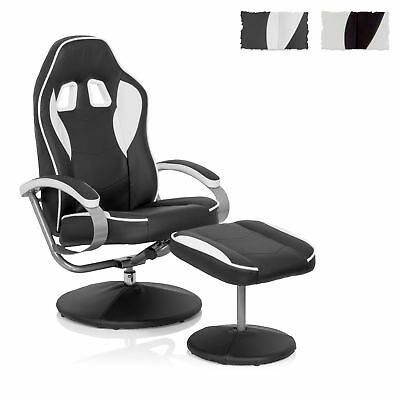 hjh OFFICE Racing Lounge Relax Stuhl Sessel Sport PC Büromöbel GAMER PRO WH 110