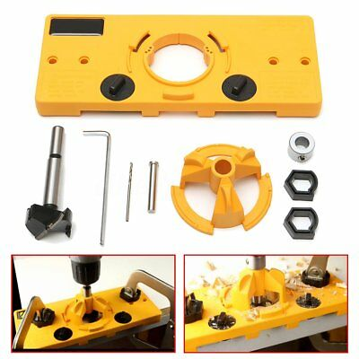 35MM Hinge Jig Forstner Drill Bit Guide Cup Style Boring Hole Cutter Woodworking